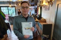 2. Platz Triplette-Wertung (Manfred Kiem)
