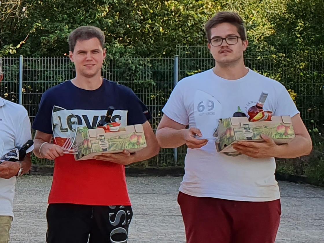 Moritz Leibelt und Niklas Flocken sind neue Stadtmeister